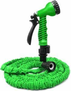 Benson Flexibele Tuinslang 10 meter Groen - Sproeier voor Tuin - 7 sproeifuncties