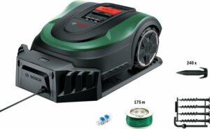 Bosch Indego M+ 700 Robotmaaier - Met accu en lader - Voor gazons tot 700 m2 - Incl. laadstation en accessoires - Connected