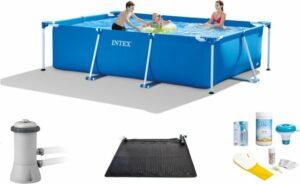 Intex Frame Pool Zwembad - 300 x 200 x 75 cm voordeel set