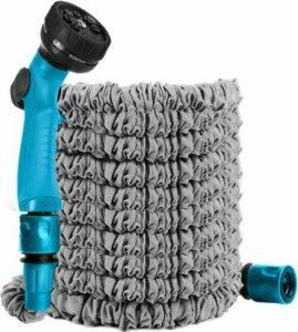 Tuinslang - Tuinslang flexibel - 8 standen - Blauw - Sproeipistool