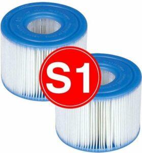 12 stuks Intex Spa filter - Type S1 29001 Filters - Voordeelpack - Filters voor de Intex Spa opblaas Jacuzzi