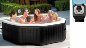 Intex 28456NL PureSpa Jet & Bubble DeLuxe - Jacuzzi 6-Persoons