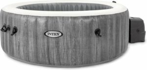 Intex Pure Spa Bubble - Greywood jacuzzi - 196x71 cm - 4 personen