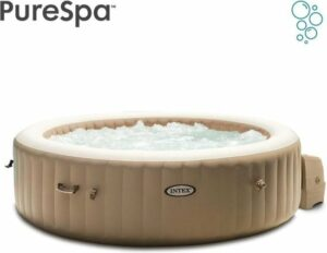 Intex Pure Spa Bubble - Sahara jacuzzi - 216x71 cm - 6 personen