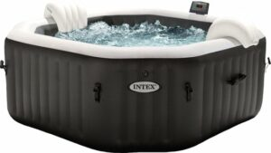 Intex Pure Spa Jet & Bubble opblaasbare jacuzzi 4 personen - Ø 201 cm