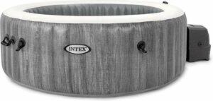 Intex PureSpa Greywood Deluxe - opblaasbare jacuzzi voor 6 personen