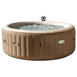 Intex achthoekige Bubble Spa