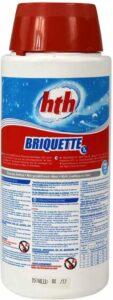 Chloor Mini - Tabletten - HTH - Kleinere zwembaden - Bubbelbaden - Opblaas Spa - chloor tablet van 7 gram - 2,5 kilo - Water - Chemie - Zwembadwater - Onderhoud