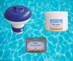 Chloor tabletten zwembad - inc. chloordrijver en teststrips