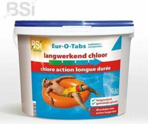Chloortabletten langwerkend - 10 kg - chloor tabletten 7,5cm (200gr = grote tabletten) tegen onzuiverheden in het water