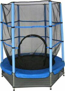 Amigo Trampoline met veiligheidsnet - Ø139cm - Blauw