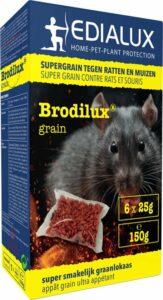 Brodilux Grain 150gr - muizengif - rattengif - tegen ratten en muizen