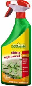 ECOstyle Ultima onkruid & mos - bestrijdt wortel en blad - spray 750 ml