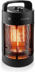 Evolar EVO-HD35 elektrische terrasverwarmer 350-700W zwenkbaar 360º