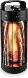 Evolar EVO-HD55 elektrische terrasverwarmer 600 - 1200W zwenkbaar 360º