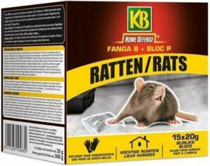 KB Home Defense rattenvergif bloc 300g