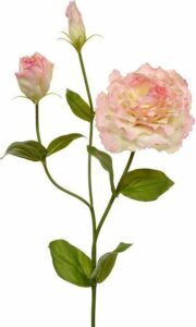 Lisianthus kunst steelbloem 80 roze