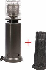 MaxxGarden Lounge Terrasverwarmer - gas - staand - verrijdbaar - verwarmt tot 50m² - max. 11.000 W