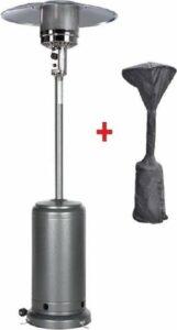 MaxxGarden Terrasverwarmer - gas - staand - verrijdbaar - tot 13000 W + GRATIS cover