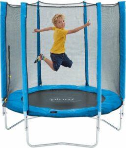 Plum Junior Trampoline 140 cm inclusief veiligheidsnet - Trampoline