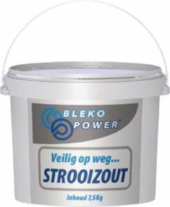 Strooizout granulaat 7.5kg in Afsluitbare emmer- Bestrijdt gladheid & verwijdert onkruid