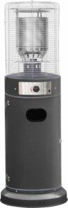 Sunred Propus Lounge Heater Grijs LH15G Terrasverwarmer - gas - staand - verrijdbaar - tot 11.000 W