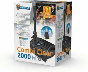 Superfish Combi Clear 2000-Uvc5w-Pomp1000l Grijs
