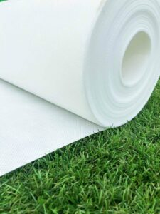 Top Kunstgras - Onderdoek Kunstgras - 133x400cm - wit geotextiel stabilisatiedoek anti-worteldoek kunstgras