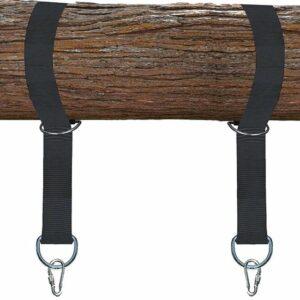 4gardenz® nylon schommel - hangmat ophangset voor boom of balk