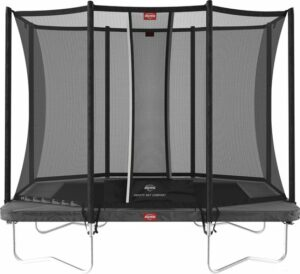BERG Ultim Favorit trampoline Regular 280 cm grijs + Safety Net Comfort