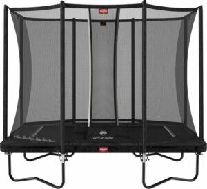 BERG Ultim Favorit trampoline Regular 280 cm zwart + Safety Net Comfort