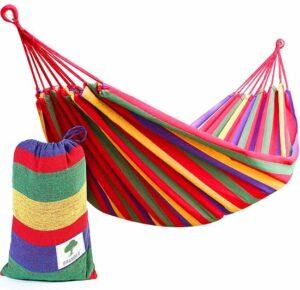 BRAMBLE Draagbare hangmat - Perfect voor Camping & Outdoors of Tuinen en Reizen - Max. belasting 150kg