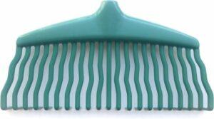 Home&Garden supplies Bladhark - Gazonhark - grashark- tuinhulp- 22 tands - zonder steel - bladhark kunstof - lichte bladhark