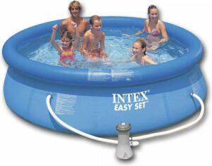 Intex Easy Set rond Zwembad 244 x76 cm - Opblaasbaarzwembad