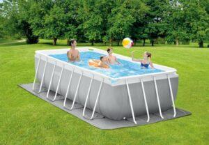 Intex Prism Frame zwembad 400x200x122 cm. met filterpomp en trap (Model 2021)