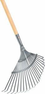 Talen Tools - Gazonhark - 22 tanden - Verzinkt - Plat - 150 cm steel