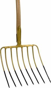 Talen Tools - Maïsvork - 8 tanden - 50x36 cm - Zonder steel