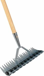 Talen Tools - Verticuteerhark - 34x12 cm - Zonder steel