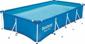 Bestway zwembad - 4,00 x 2,11 x 0,81 meter- Stalen Frame