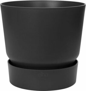 Elho - greenville rond 40cm living black
