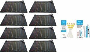 Intex - 8 stuks - Zwembad verwarming - Geschikt voor filterpomp