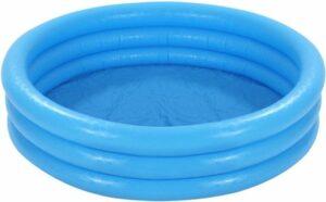 Intex Crystal Blue Opblaasbaar Zwembad - 3 Rings - 168 cm - Opblaaszwembad