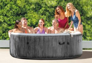 Intex Pure Spa Greywood Deluxe zes persoons