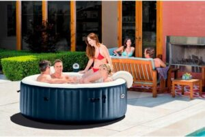 Intex Pure Spa Plus+ Bubble Therapy vier persoons