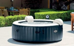 Intex Pure Spa Plus+ Bubble Therapy zes persoons