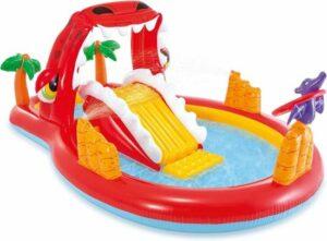 Intex Speelzwembad Happy Dino - 259x165x107cm