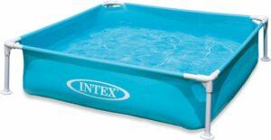 Intex - mini frame zwembad - 122x122 cm - Opzetzwembad