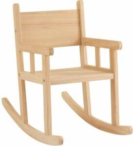 J-Line schommelstoel kind hout 58 x 34,5 x 65