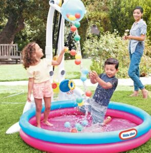 Little Tikes Ballenbak & Kiddie Splash Pool
