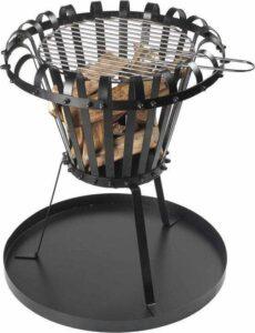 MaxxGarden Vuurkorf - Vuurschaal - Barbecue - Ø 54 cm - Incl. grillrooster en bodemplaat